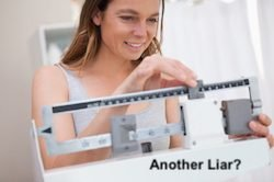 Lying Scale