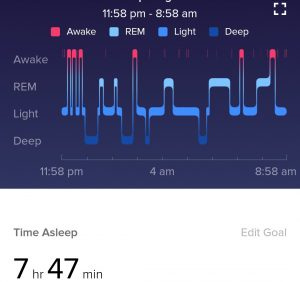 Fitbit Sleep Patterns