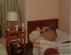 Guest House Room at Fort Devens 1968