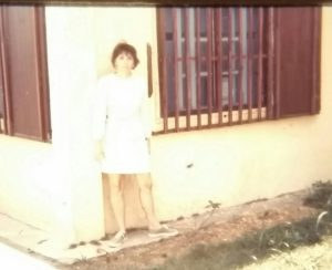 Off base Housing in Okinawa 1969