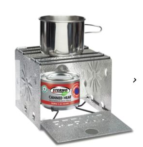 Sterno Stove and fuel