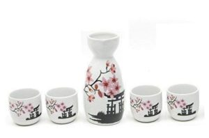 Sake Ceramic Serving Set