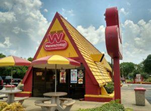 Wienerschnitzel in Bryan, Texas