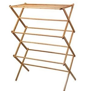 Wooden Folding Clothes Dryer
