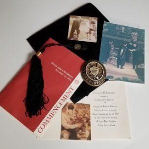 Graduation 1974 mementos