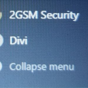 Collapse Menu button