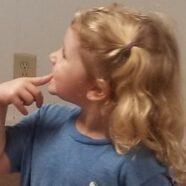 Bouncing Golden Curls